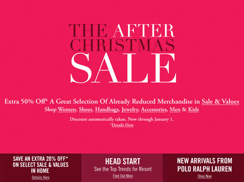 After christmas sale 5
