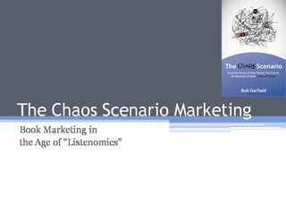 The Chaos Scenario Marketing - IPPY Awards Submission cover