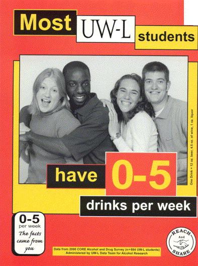 Binge drinking poster