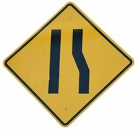 Lane_ends_sign